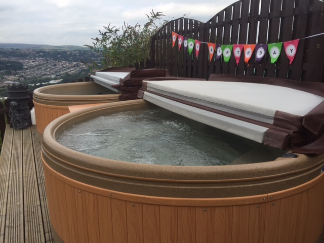 Large hot tub hire York